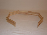 Wooden Expandable Toy Fence