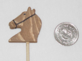 Mini Wooden Stick Horse