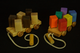 Spinning Blocks Pull Toy