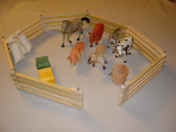 Expandable Toy Fence Animal Combo