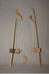 Natural Wooden Fishing Pole