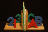 ABC Bookends