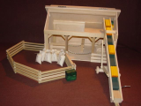 A Frame Horse Stable Barn Package