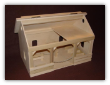 A Frame Toy Horse Stable Barn