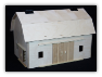 Hip Roof Wooden Toy Barn