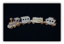 Handmade Wooden Maple Train