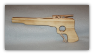 Wooden Rubber Band Pistol