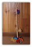 Wooden Fishing Pole With Fabric Fish