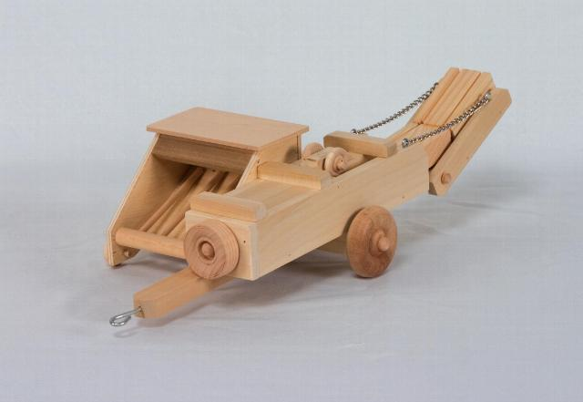 Home Children's Play Farm Series Handmade Wooden Tractor